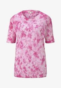TOM TAILOR DENIM - T-SHIRT BATIK T-SHIRT - Print T-shirt - washed pink - 5