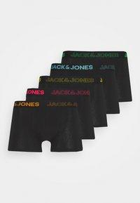 JACSQAURE TRUNKS 5 PACK - Underkläder - black