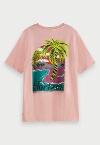 Scotch & Soda - Print T-shirt - petal pink - 4