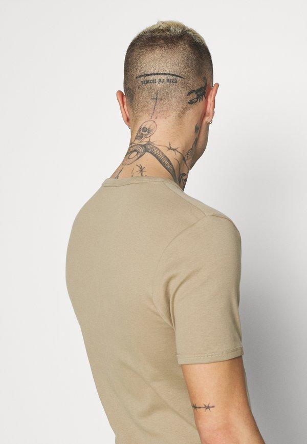 G-Star BASE 2 PACK - T-shirt basic - rock/piaskowy Odzież Męska ZUXO
