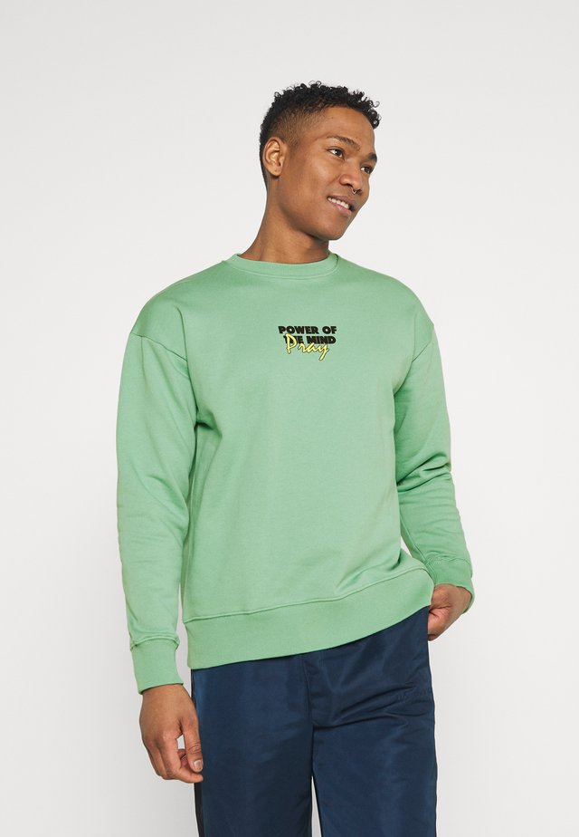 MINDS POWER UNISEX  - Collegepaita - vintage green