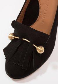 Selected Femme - SFMEL FRINGES - High Heel Pumps - black - 6