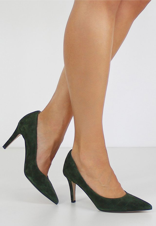 ARIA - Klassieke pumps - green
