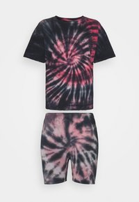 Missguided - COORD AND CYCLE TIE DYE SET - Shorts - pink - 7