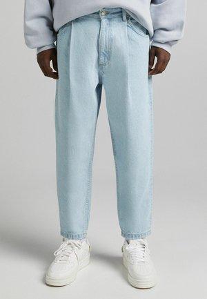 TAPERED - Straight leg -farkut - light blue