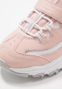 Skechers - D'LITES - Baskets basses - light pink/white - 5