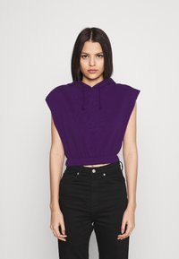 Topshop - HOOD - Print T-shirt - purple - 0