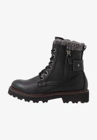 TOM TAILOR - Kotníkové boty na platformě - black - 1