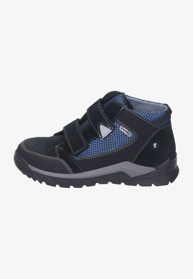 High-top trainers - schwarz/royal