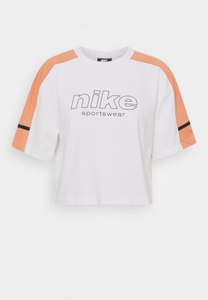 ARCHIVE - Camiseta estampada - white/healing orange