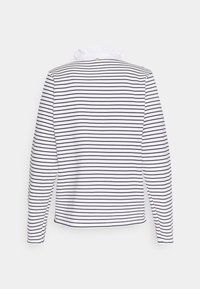 Rich & Royal - Long sleeved top - white/dark blue - 1