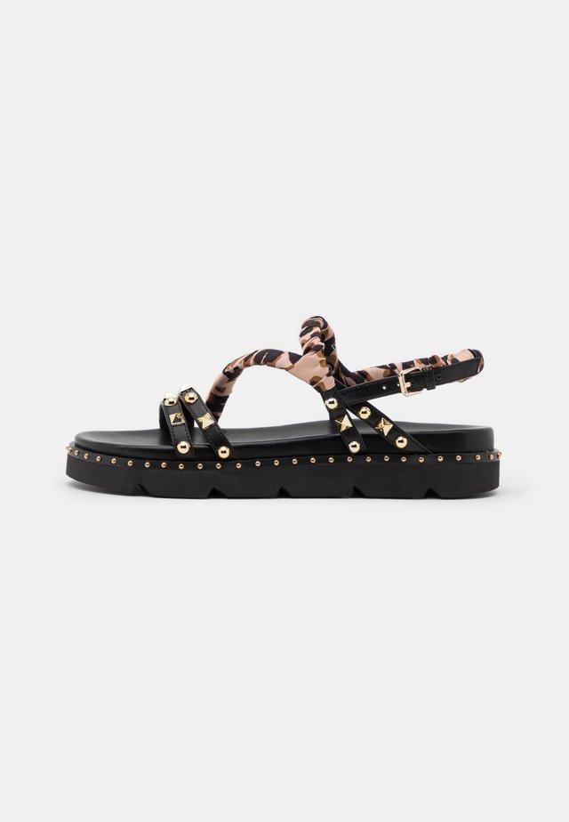 MARIA  - Korkeakorkoiset sandaalit - black