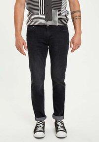 DeFacto - Slim fit jeans - anthracite - 0