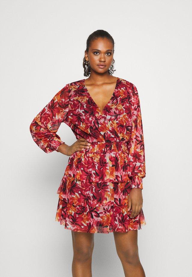 ALICE DRESS - Vestito estivo - red/multi color