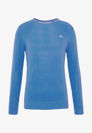 C NECK - Svetr - pacific blue