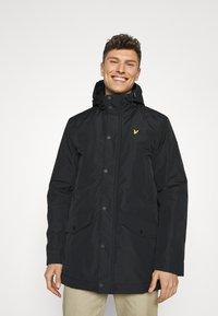 Lyle & Scott - TECHNICAL - Winter coat - jet black - 0
