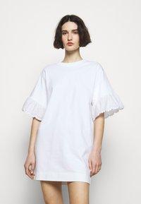 See by Chloé - Jersey dress - white powder - 0