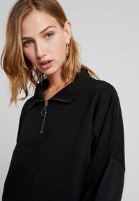 Noisy May - NMHALLY ZIP - Sweatshirt - black - 4