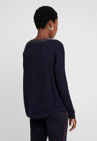 s.Oliver BLACK LABEL - Strikpullover /Striktrøjer - luxury blue - 2