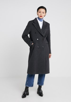 SALVIA - Classic coat - dark grey melange
