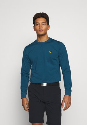 GOLF TECH CREW MIDLAYER - Sweatshirt - deep fjord