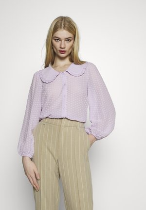 YASMINNIE - Button-down blouse - lavender fog