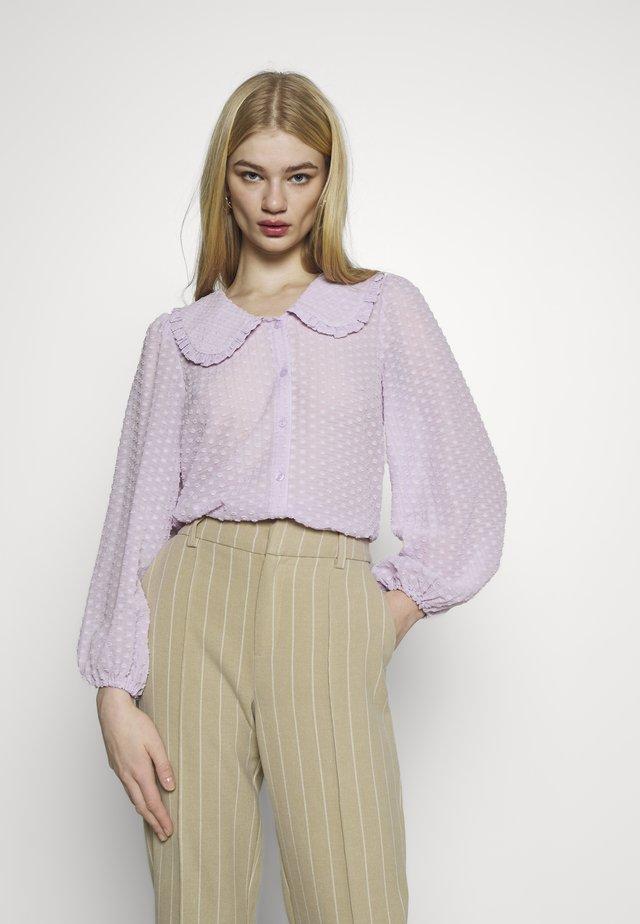 YASMINNIE - Button-down blouse - lavender fog