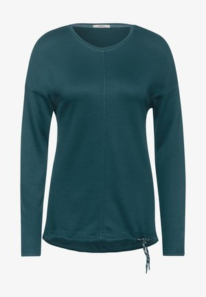 MIT LEICHTER STRUKTUR - Long sleeved top - grün