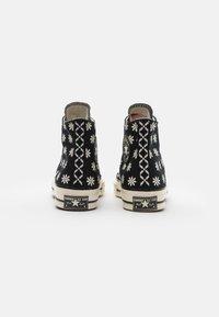 Converse - CHUCK TAYLOR ALL STAR 70 UNISEX - Zapatillas altas - black/egret - 2
