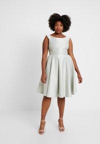 Swing Curve - Vestito elegante - whitegreen - 2