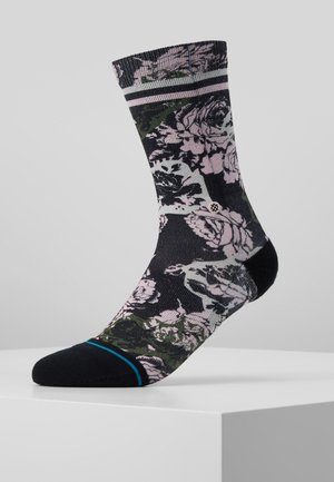 LA VIE EN ROSE CREW - Socks - black