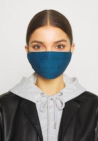 Zign - 3 PACK - Látková maska - pink /nude/dark blue - 0