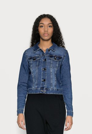 NMDEBRA JACKET - Jeansjakke - medium blue denim