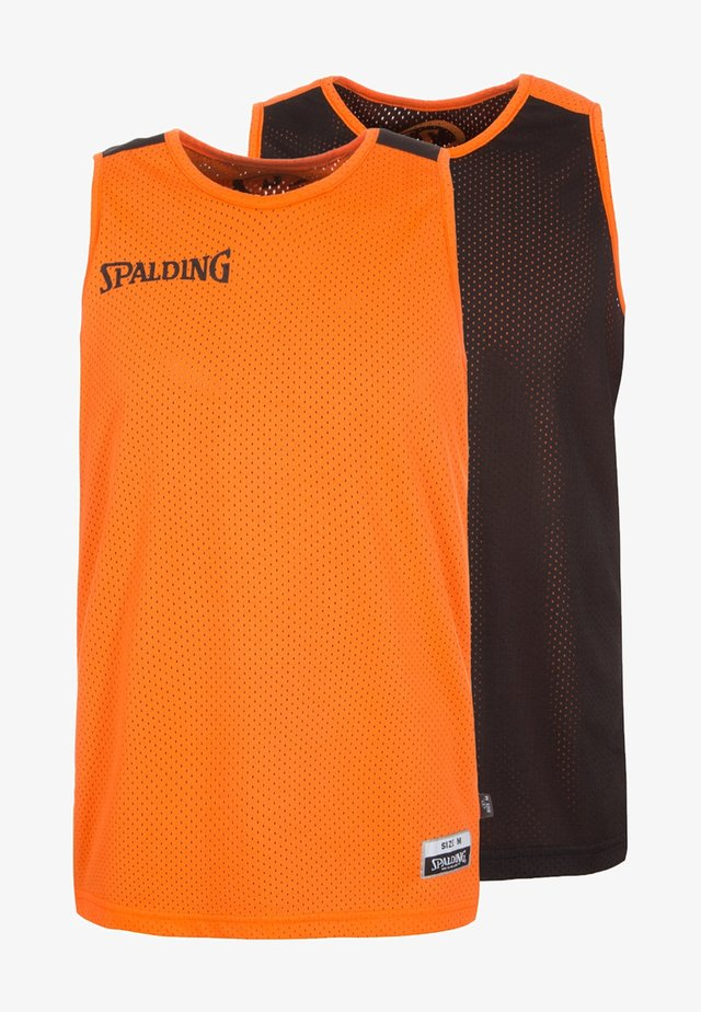2 PACK - Sports shirt - orange/black