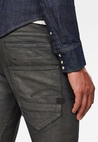 G-Star - D-STAQ 3D SLIM COJ - Slim fit jeans - raven soft cobler - 2