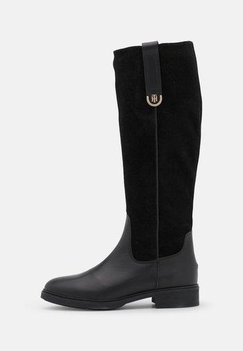 HARDWARE LONGBOOT - Boots - black