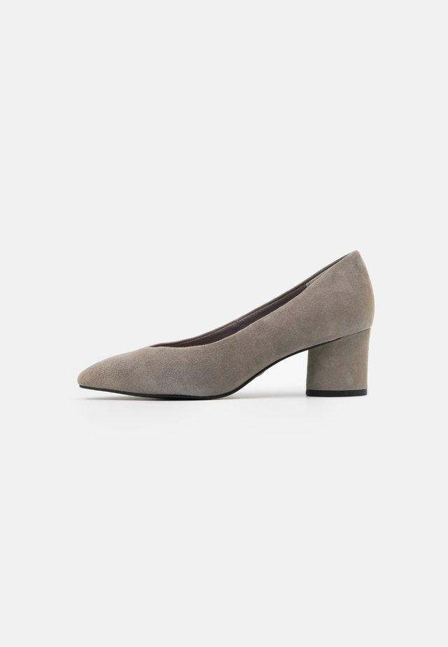 COURT SHOE - Czółenka - light grey