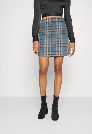 JOSIE SKIRT - Mini skirt - blue