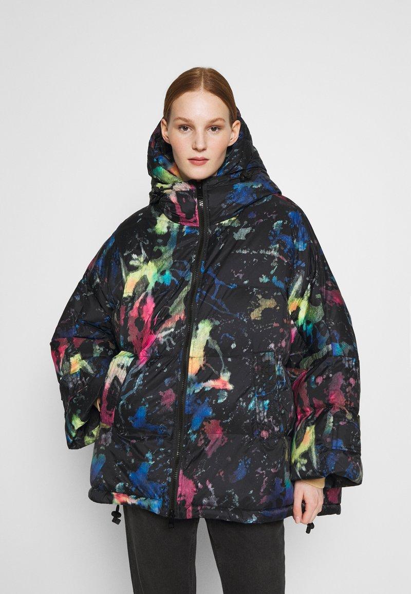 Diesel - JANUA - Winter coat - black/multicolour