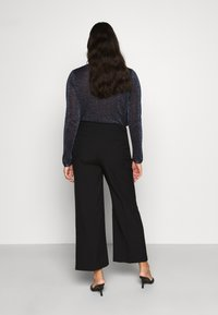 CAPSULE by Simply Be - ESSENTIAL WIDE LEG TROUSER - Kalhoty - black - 2