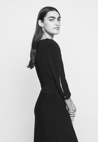 Lauren Ralph Lauren - CLASSIC LONG GOWN WITH TRIM - Robe de cocktail - black - 5