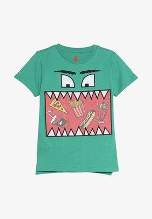 ELI SHORT SLEEVE TEE - Camiseta estampada - green