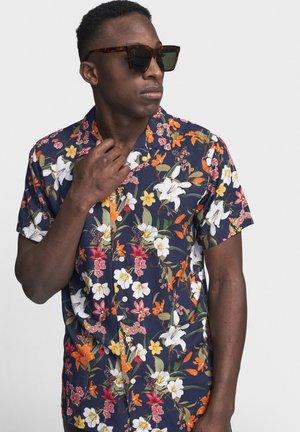 JOE - Shirt - navy bloom