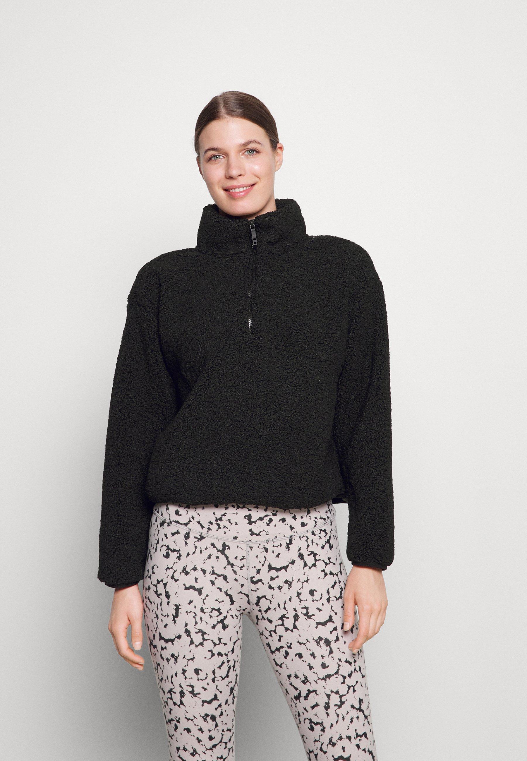 Women CROP  - Fleece jumper