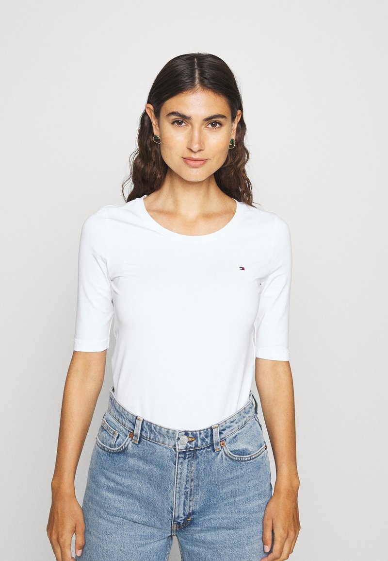 Tommy Hilfiger - ESSENTIAL SOLID - Basic T-shirt - white