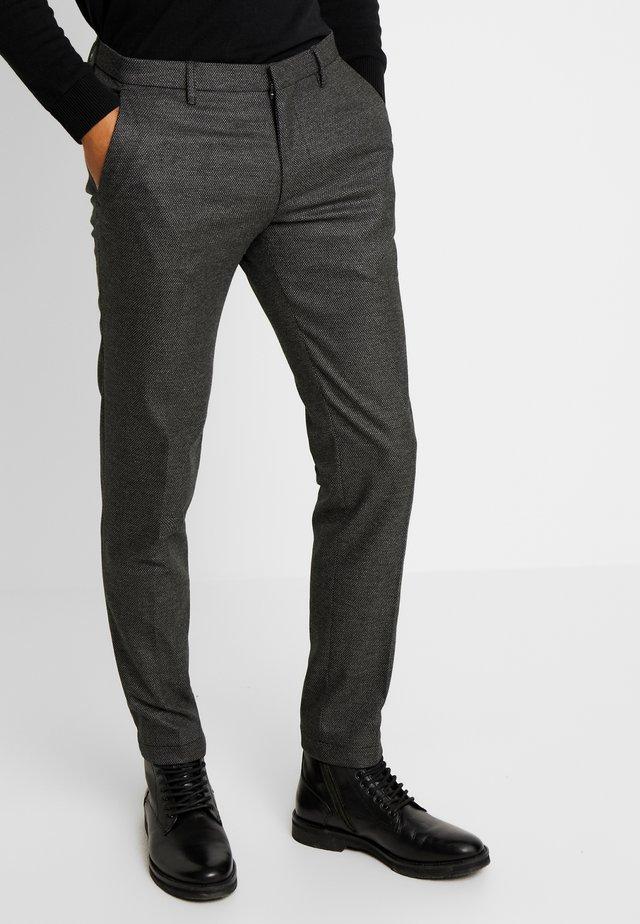 CIBRIX - Suit trousers - dark grey