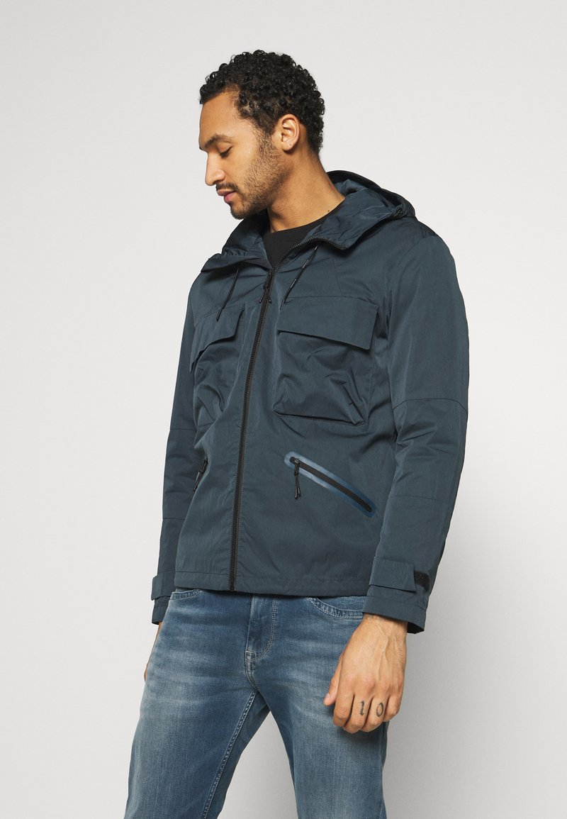 Jack & Jones PREMIUM - JPRRYAN JACKET - Summer jacket - blueberry