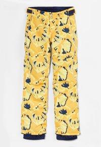 O'Neill - Snow pants - yellow aop w/ brown - 1