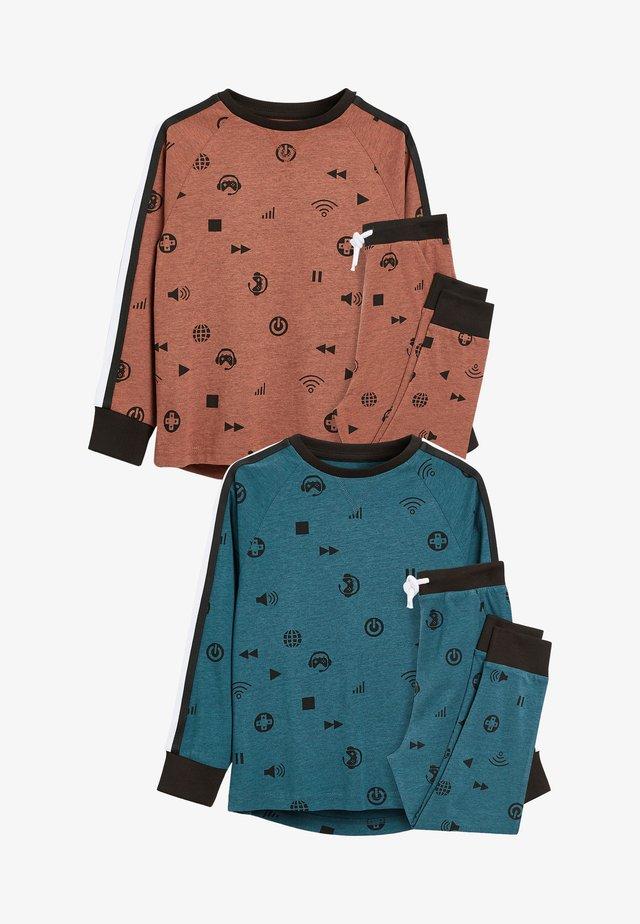 2 PACK - Pyjamas - blue