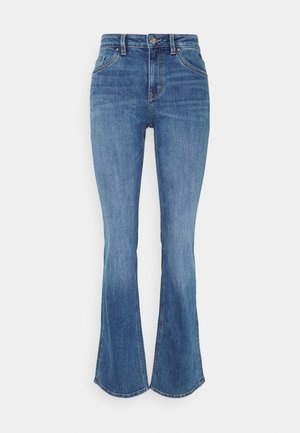 Flared Jeans - blue medium wash
